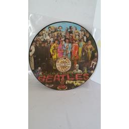 SOLD: THE BEATLES sgt. peppers lonely hearts club band, picture disc