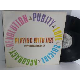 SOLD SPACEMEN 3 playing with fire, FIRE LP 16