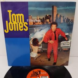 "TOM JONES, if I only knew (t-empo's 'live from las vegas' club mix) + (inner city club mix), B side (t-empo's 'get those knickers off!' dub) + (inner city dub), ZANG 59 T, 12"" single"
