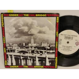 SOLD: RED HOT CHILI PEPPERS under the bridge, PICTURE SLEEVE, 7 inch single, W0084