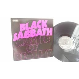 BLACK SABBATH master of reality, NEL 6004