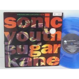 SONIC YOUTH sugar kane, 10 inch blue vinyl. GFSV 37