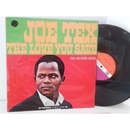 JOE TEX the love you save, 587009