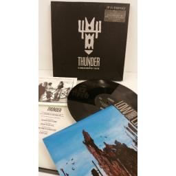 THUNDER low life in high places, special edition boxed, picture insert, 12 EMS 242