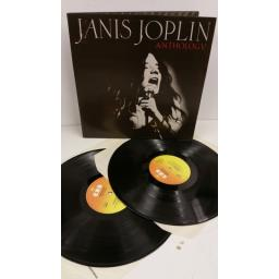 JANIS JOPLIN anthology, 2 x lp, gatefold, CBS 22101