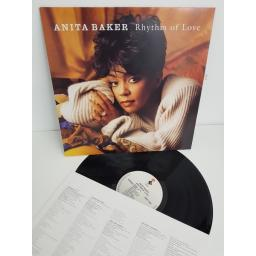 "ANITA BAKER, rhythm of love, 7559-61555-1, 12"" LP"
