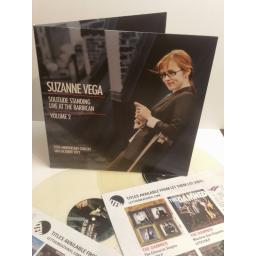 SUZANNE VEGA solitude standing live at the barbican volume 2, 25th anniversary concert 16th October 2012 LTD ED' CLEAR VINYL LETV396LP