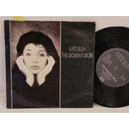 KATE BUSH this woman's work, PICTURE SLEEVE, 7 inch single, EM 119