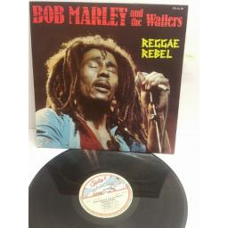 BOB MARLEY AND THE WAILERS reggae rebel JTU AL 80