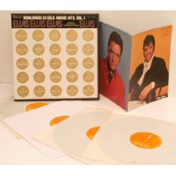 ELVIS PRESLEY, world wide 50 golden award hits Vol 1.