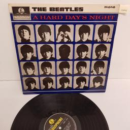 "THE BEATLES, a hard day's night, PMC 1230, 12"" LP, mono"