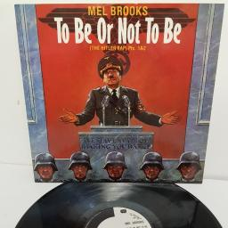 "MEL BROOKS, to be or not to be (the hitler rap) pts. 1&2, 12 IS 158, 12"" single"