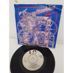 HAWKWIND, silver machine, side B seven by seven, UP 35381, 7'' single