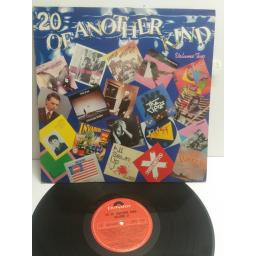 20 OF ANOTHER KIND VOLUME TWO featuring SHAM 69, THE JAM, THE INVADERS, THE CURE, PURPLE HEARTS, TWIST ETC. POLX1