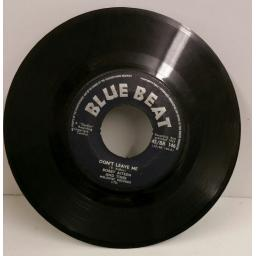 BOBBY AITKEN AND TINSE don't leave me / mom & dad, 7 inch single, 45/BB 146