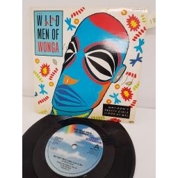 "THE WILD MEN OF WONGA, why don't pretty girls look at me, B side my mother never shouts at me, WONG 1, 7"" single"
