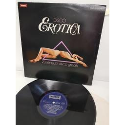 "DISCO EROTICA, WW 5108, 12"" LP"