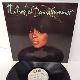 DONNA SUMMER, the best of donna summer, WX397, 12 inch LP, compilation