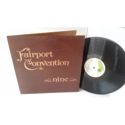 FAIRPORT CONVENTION nine, gatefold, ILPS 9246