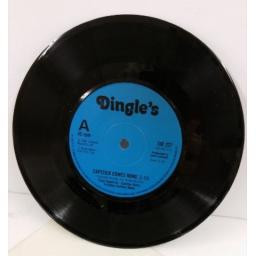 TONY CAPSTICK & CARLTON MAIN FRICKLEY COLLIERY BAND capstick comes home / the sheffield grinder, 7 inch single, SID 227.