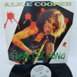 "ALICE COOPER, freak out song, SHLP 115, 12"" LP, compilation"