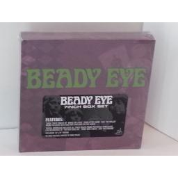 BEADY EYE 7 inch box set, 3 x vinyl, 13 x 19 poster, DGB066