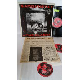 THE CLASH sandinista, 3 x lp, lyric insert, FSLN 1