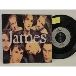 JAMES sound, PICTURE SLEEVE, 7 inch single, JIM 9