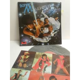 BONEY M. nightflight to Venus WITH 5 POSTCARD INSERTS 2310611