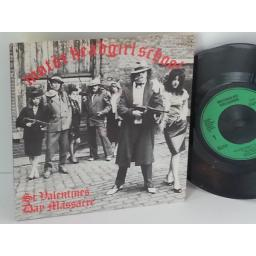 MOTORHEAD, GIRLSCHOOL st valentines day massacre, 7 inch single, BRO 116