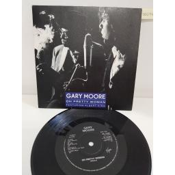 GARY MOORE, oh pretty woman, side B king of the blues, VS 1233, 7'' single