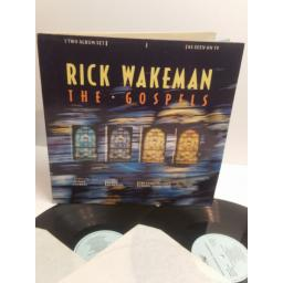 RICK WAKEMAN the gospels featuring Robert Powell TWO ALBUM SET AS SEEN ON TV smr729