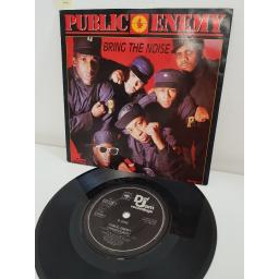 PUBLIC ENEMY, bring the noise, side B sophisticated, 65133 7, 7'' single