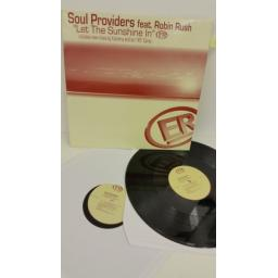 SOUL PROVIDERS FEAT ROBIN RUSH let the sunshine in, 2 x vinyl, ELAN 1018