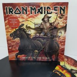 "IRON MAIDEN, death on the road, 336 437 1, 2x12"" LP, limited edition picture discs"
