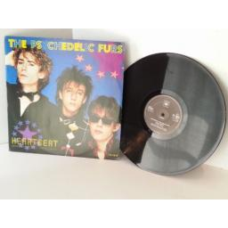 THE PSYCHEDELIC FURS heartbeat, 12 inch single
