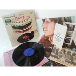 THE ROLLING STONES let it bleed, NPS 4, includes all posters and inserts