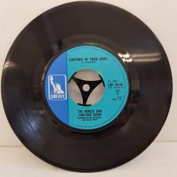 "THE BONZO DOG DOO-DAH BAND, I'm the urban spaceman, B side canyons of your mind, LBF 15144, 7"" single"