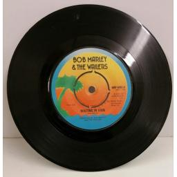 BOB MARLEY & THE WAILERS waiting in vain, 7 inch single, WIP 6402