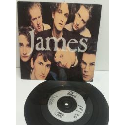 JAMES sound , all my sons. 7 inch picture sleeve. 866 196-7