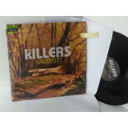 SOLD: THE KILLERS sawdust, gatefold, double album, 00407