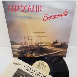 "CAPERCAILLIE, crosswinds, SIF 1077, 12"" LP"