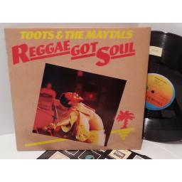 SOLD: TOOTS AND THE MAYTALS reggae got soul, ILPS 9374