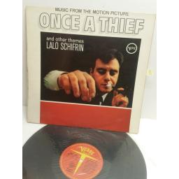 LALO SCHIFRIN music from the motion picture Once A Theif and other themes V8624