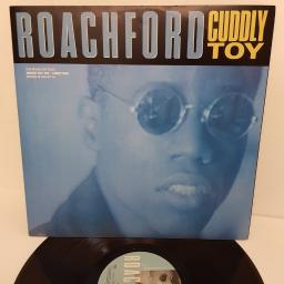 "ROACHFORD, cuddly toy & lions den, B side nobody but you (live) & family man (live), ROA T4, 12"" single"