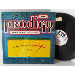 THE PRODIGY wind up (rewound), 12 inch single, 3 tracks, XLT 39