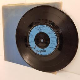 "BLONDIE, denis (denee), B side contact in red square + kung fu girls, CHS 2204, 7"" single"