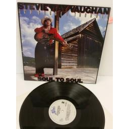 STEVIE RAY VAUGHAN AND DOUBLE TROUBLE soul to soul, EPC 26441