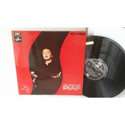 EDITH PIAF the world of piaf, SCX 6317