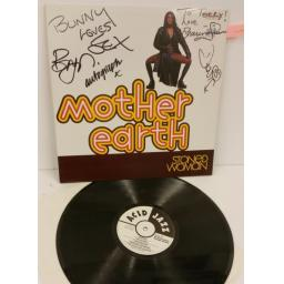 MOTHER EARTH stoned woman, signed copy, JAZID LP48